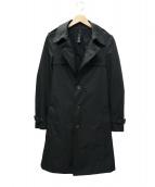 wjk(ダブルジェイケイ)の古着「シングルトレンチコート」|ブラック