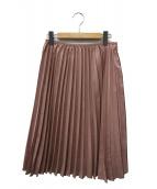 ANAYI(アナイ)の古着「フェイクスウェードテンシャプリーツスカート」