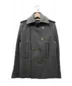 DSQUARED2(ディースクエアード)の古着「Pコート」 グレー