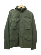DEUS EX MACHINA(デウスエキスマキナ)の古着「ミリタリージャケット」|オリーブ