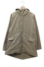 GALERIE VIE(ギャルリーヴィー)の古着「ポリエステルタフタフードコート」