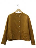GALLEGO DESPORTES(ギャレゴデスポート)の古着「リネンクルーネックジャケット」