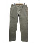 WHITE SIVIGLIA(ホワイトシヴィリア)の古着「ダメージ加工パンツ」