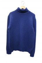 Altea(アルテア)の古着「タートルネックニット」|ブルー