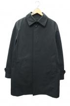 五大陸(ゴタイリク)の古着「ダウンライナーバルカラーコート」|ブラック