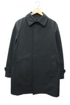 五大陸(ゴタイリク)の古着「ダウンライナーバルカラーコート」 ブラック