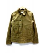 Denim & Supply Ralph Lauren(デニムアンドサプライ ラルフローレン)の古着「N-1デッキジャケット」|オリーブ