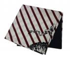 Black Fleece(ブラックフリース)の古着「大判シルクスカーフ ストール」|ホワイト