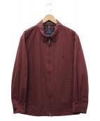 Brooks Brothers(ブルックスブラザーズ)の古着「ジップアップジャケット」 ボルドー