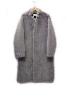SMUK(スモック)の古着「エコファーコート」