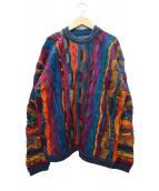 coogi(クージー)の古着「立体編みニット」
