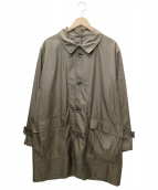 Eddie Bauer(エディーバウアー)の古着「ステンカラーコート」|ベージュ