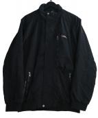 RLX RALPH LAUREN(RLX ラルフローレン)の古着「ジップアップジャケット」|ブラック