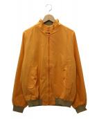 BARACUTA(バラクータ)の古着「G9ハリントンジャケット」|オレンジ