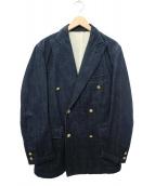 J.PRESS(ジェイプレス)の古着「ダブルデニムジャケット」|インディゴ