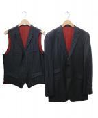 BLACK LABEL(ブラックレーベル)の古着「3Pセットアップスーツ」|ブラック
