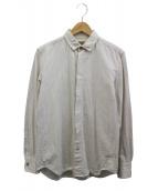 BROWN by 2-tacs(ブラウン バイ ツータックス)の古着「リネン混シャツ」|ホワイト