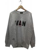 VAN(ヴァン)の古着「クルーネックスウェット」 グレー
