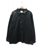 CRIMIE(クライミ)の古着「ストレッチチノジャケット」|ブラック