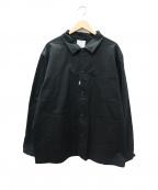CRIMIE(クライミー)の古着「ストレッチチノジャケット」 ブラック