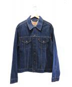LEVIS(リーバイス)の古着「デニムジャケット」 ブラック