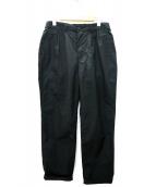 KATO(カトー)の古着「タックパンツ」|ブラック