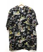 KONABAY HAWAII(コナベイハワイ)の古着「アロハシャツ」|ブラック