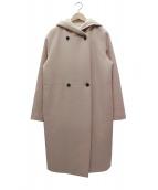 BEIGE(ベイジ)の古着「フーデッドコート」|アイボリー