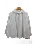 GALLEGO DESPORTES(ギャレゴデスポート)の古着「プルオーバーシャツ」 ホワイト