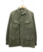 KAPTAIN SUNSHINE(キャプテンサンシャイン)の古着「ミリタリージャケット」|カーキ