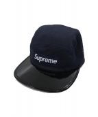 Supreme(シュプリーム)の古着「キャップ」|ネイビー