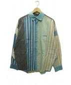Dulcamara(ドゥルカマラ)の古着「ストライプシャツ」|ブルー
