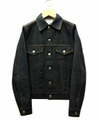 HYKE(ハイク)の古着「3rdデニムジャケット」|インディゴ