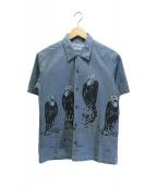 SVG by NEIGHBORHOOD(エスブイジー バイ ネイバーフッド)の古着「半袖シャツ」