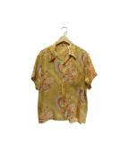 Hawaiian by BIG JOHN(ハワイアン バイ ビッグジョン)の古着「アロハシャツ」 ベージュ