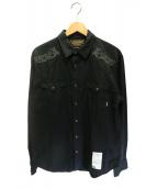 NEIGHBORHOOD(ネイバーフッド)の古着「ウエスタンシャツ」 ブラック