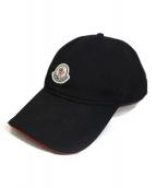 MONCLER(モンクレール)の古着「ベースボールキャップ」|ブラック