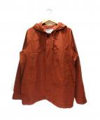 MARGARET HOWELL(マーガレットハウエル)の古着「フーデッドジャケット」|ブラウン
