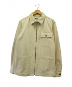 MHL.(エムエイチエル)の古着「ジップアップブルゾン」|ホワイト