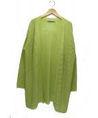 Leilian(レリアン)の古着「トッパーカーディガン」|グリーン