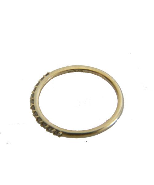 AHKAH(アーカ)AHKAH (アーカ) ドゥーズブリエ ダイヤリング サイズ:10号 K18 0.12ct 参考定価56.000円+税の古着・服飾アイテム