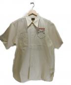 CUSHMAN(クッシュマン)の古着「ガーメントシャツ」|アイボリー