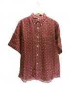 CUSHMAN(クッシュマン)の古着「ボタンダウンシャツ」|レッド