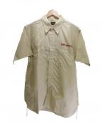 CUSHMAN(クッシュマン)の古着「DUFF & ROY'Sガーメントシャツ」|ベージュ