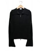 FOXEY BOUTIQUE(フォクシー ブティック)の古着「ニットジャケット」|ブラック