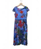 marimekko(マリメッコ)の古着「ワンピース」|ブルー