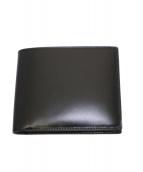 GANZO(ガンゾ)の古着「コードバン2つ折り財布」|ブラック