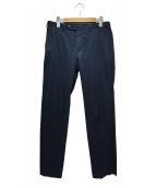 TOMORROW LAND(トゥモローランド)の古着「アイスコットンスリムパンツ」 ブルー