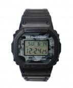 F.C.R.B. × CASIO G-SHOCK(エフシーアールビ×カシオ ジーショック)の古着「DW-5600VT  腕時計」