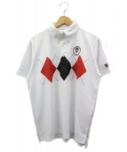VAN×CAPTAIN SANTA(ヴァン×キャプテンサンタ)の古着「ポロシャツ」 ホワイト